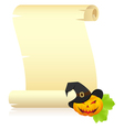 halloween letter vector image vector image