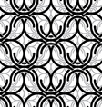 Monochrome vintage style mesh seamless pattern vector image vector image