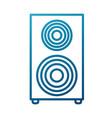 music speaker device vector image vector image