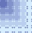 seamless pattern geometric blue vector image vector image