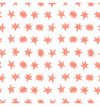 seamless pattern with birthday stars vector image vector image