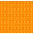 Seamless pattern with circles and lines vector image vector image