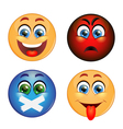 Set of different emotions vector image