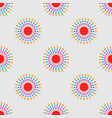 abstract geometric seamless pattern ethnic vector image