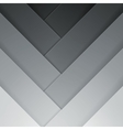Abstract grey crossing rectangle shapes background vector image