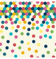abstract seamless geometric pattern colorful vector image vector image