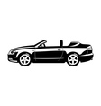 Convertible vector image vector image