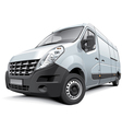 French medium size van vector image vector image