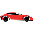 Race car vector image vector image