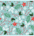 seamless pattern for happy new year and merry vector image