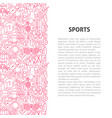 Sports line pattern concept