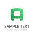 template logo vector image vector image