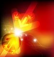 arrow battle vector image vector image