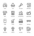 electronics and appliances vector image vector image
