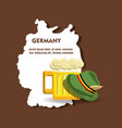 germany design concept vector image vector image