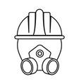 industrial security design vector image vector image