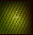 modern stylish background geometric yellow tiles vector image vector image