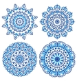 Ornamental ethnicity pattern vector image vector image