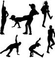 street dance vector image