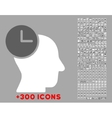Time Thinking Icon vector image vector image