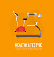 gym training bodybuilding healthy banners vector image vector image