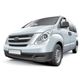 Korean light commercial vehicle vector image vector image