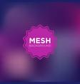 Mesh background in indigo color palette