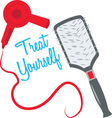Treat Yourself vector image vector image