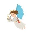 angel arrow arch instrument icon vector image vector image