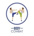 Bodycombat design vector image