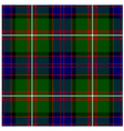 Clan Donald Tartan Plaid Pattern Seamless Design vector image vector image
