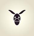 Donkey logo vector image