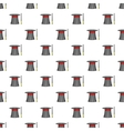 Magician hat and wand pattern cartoon style vector image vector image