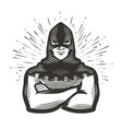 masked executioner symbol execution vector image vector image