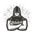 masked executioner symbol execution vector image