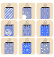 shopping bag vector image vector image