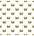 small butterfly pattern seamless vector image vector image