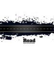 abstract street dirty road pathway background vector image