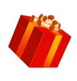 gifrt box vector image