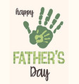 happy fathers day imprints vector image vector image