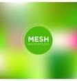 mesh background in spring color palette vector image vector image