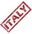 New Italy rubber stamp vector image vector image