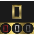 O Letter logo vector image vector image