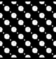 seamless black and white pattern with abstract vector image vector image