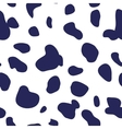 Seamless pattern of dalmatian spots vector image vector image