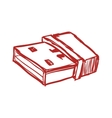 Usb memory icon Technology design graphic vector image vector image