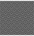 Design seamless monochrome strip abstract pattern vector image