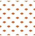Fan pattern cartoon style vector image vector image