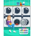 laundromat vector image vector image