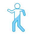 pictogram man icon